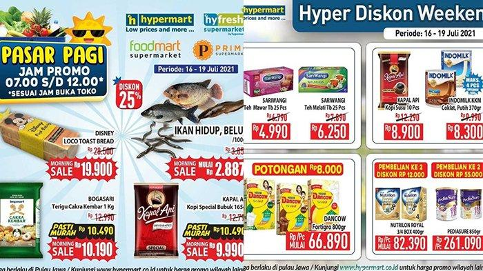 Promo JSM Hypermart 18 Juli 2021, Yoghurt Beli 2 Gratis 1, Susu Diskon Rp12.000 Pembelian ke-2