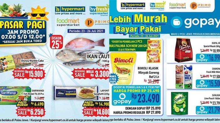Promo JSM Hypermart 25 Juli 2021, Minyak Goreng 2L Rp23.490,Ikan Laut Diskon 30% Jadi Rp3.300