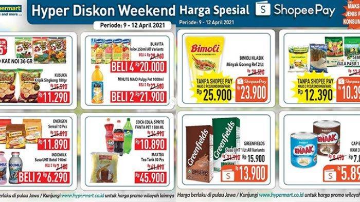 Promo JSM Hypermart 9-12 April 2021, Minyak Goreng 2L Rp23.900,Snack Diskon 25%, Popok Rp 40 Ribuan