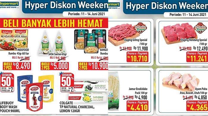 Promo JSM Hypermart Hari Ini 13 Juni 2021, Daging Rendang Spesial Rp11.241, Bumbu Beli 2 Rp8.490
