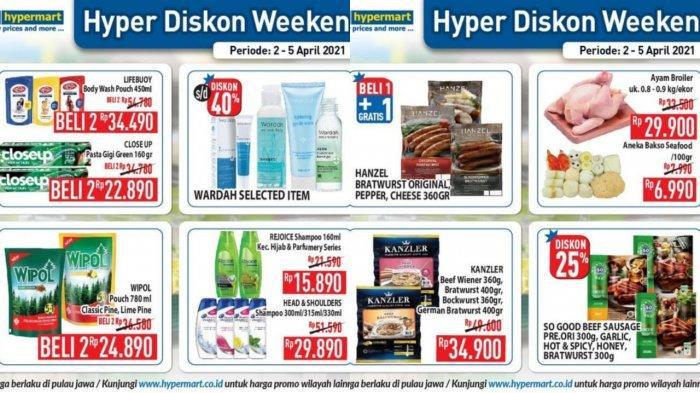 Promo JSM Hypermart Hari Ini 4 April 2021, 2 Wipol Pouch Rp 24.890, Aneka Bakso Seafood Rp 6.990