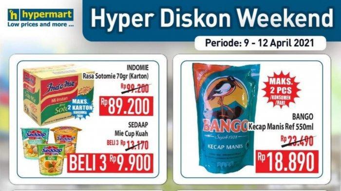 Promo JSM Hypermart 9-12 April 2021, Bango Kecap Manis Rp 18.890, Enfagrow 800 Gr Rp 268.600