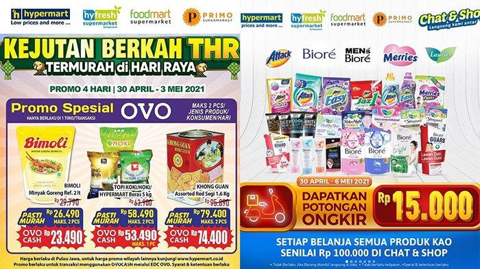 Promo JSM Hypermart Terakhir 3 Mei 2021, Beras 5Kg Rp53.490, Sabun, Popok, Detergen Diskon Rp15.000