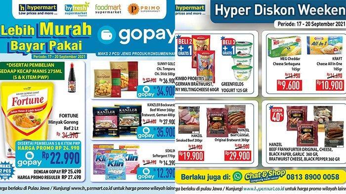 Promo JSM Hypermart TERBARU 17-20 September 2021, Minyak Goreng Fortune 2L Rp22.990, Beef Diskon 40%