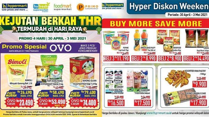 Promo JSM Hypermart TERBARU 30 April – 3 Mei 2021, Minyak Goreng 2L Rp23.490, Sirup Gratisan