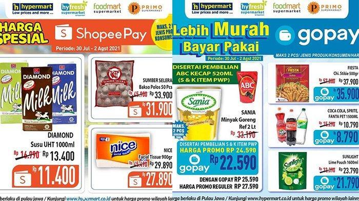 Promo JSM Hypermart TERBARU 30 Juli-2 Agustus 2021, Minyak Goreng 2L Rp22.590, Susu UHT 1L Rp11.400