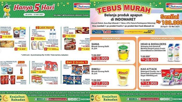 Promo JSM Indomaret 1 Mei 2021, Snack Beli 2 Gratis 1, Popok Rp39.900, Tebus Murah Minyak Goreng