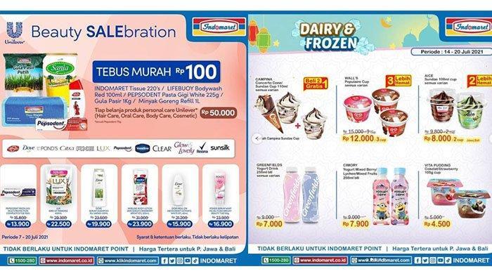 PROMO JSM Indomaret 16 Juli 2021: Tebus Murah Rp100 Produk Pilihan, Greenfields Yogurt Rp7.000