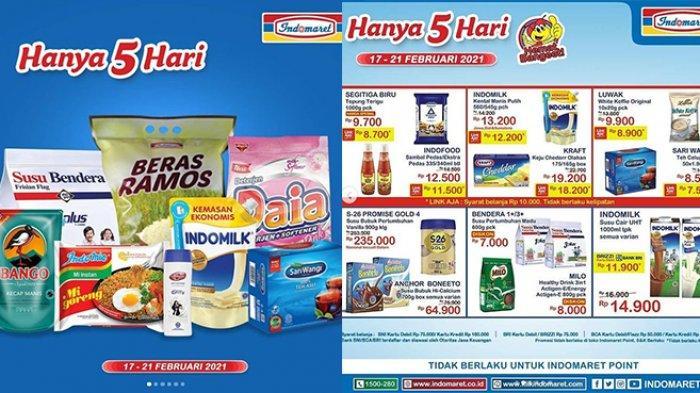 Promo JSM Indomaret HINGGA 5 HARI 17 - 21 Februari 2021, Susu Diskon Rp18.500, Popok Harga Spesial