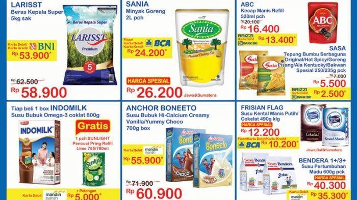 Promo JSM Indomaret, Diskon Susu, Dispers & Tisu Basah, Sosis, Minyak Goreng & Kecap Turun Harga