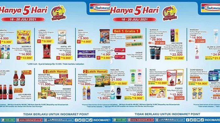 Promo JSM Indomaret 18 Juli 2021, Margarin Rp3.300, Tepung Terigu 1Kg Rp7.200, Popok Harga Spesial