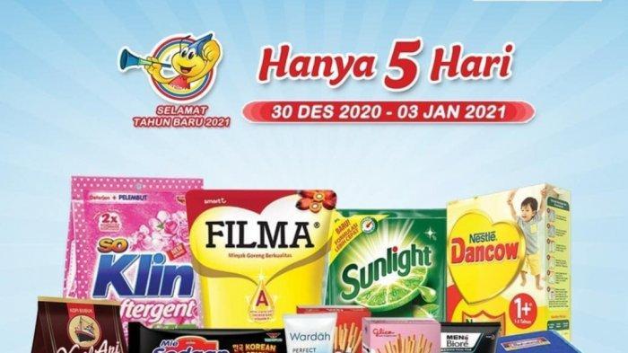 Promo Indomaret Spesial Tahun Baru Berlaku hingga 5 Januari, Diskon Susu hingga Snack Serba Murah