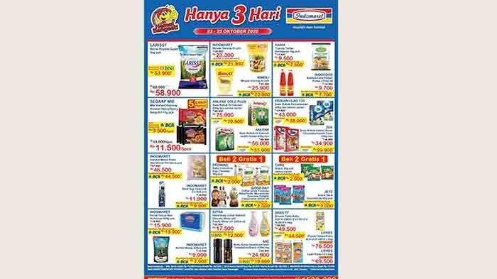 Katalog Promo Jsm Indomaret 23 25 Oktober 2020 Diskon Beras Minyak Goreng Hingga Susu Hanya 3 Hari Tribun Bali