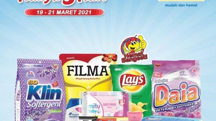 Promo JSM Indomaret & Alfamart Besok 20 Maret 2021, Beras 5kg Rp53.900, Kacang Kulit Beli 1 Gratis 1