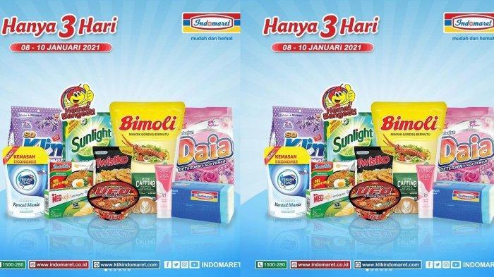 Hari Terakhir Promo JSM Indomaret, Dapatkan Harga Murah untuk Minyak Goreng, Diapers hingga Camilan