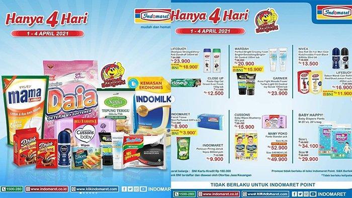 Promo JSM Indomaret 3 April 2021, Susu Beli 2 Lebih Hemat, Detergen Rp11.500,Popok Diskon Rp10.000