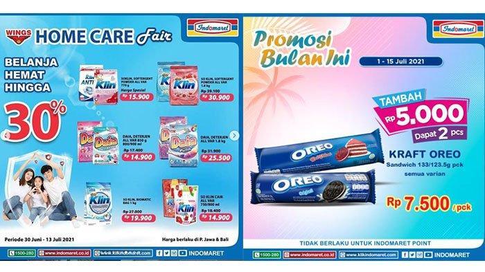 PROMO JSM Indomaret TERBARU 2 Juli 2021: Oreo +Rp5.000 Dapat 2, Daia All Varian 900ml Rp14.900