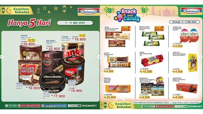 Promo Indomaret Spesial Ramadhan Besok Minggu 9 Mei 2021, Khong Guan Rp 78.900 Nabati Rp 19.900
