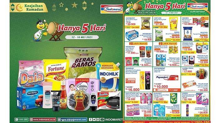 Promo Indomaret 14 Mei 2021, Banyak Produk TURUN HARGA, Susu UHT Beli 2 Gratis 1, Beras 53.900