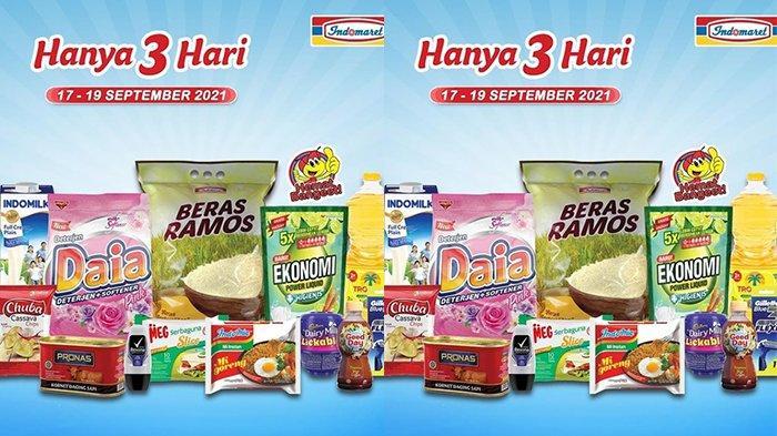 Promo JSM Indomaret TERBARU 17-19 September 2021, Minyak Goreng 2L Rp24.800, Daia 900Gr Rp10.500
