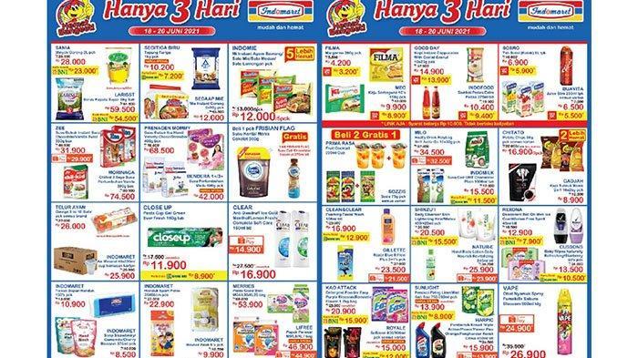Promo Indomaret 18 Juni 2021, Promo Beras, Minyak Goreng, Shinzui Rp15.500, Snack Beli 2 Gratis 1