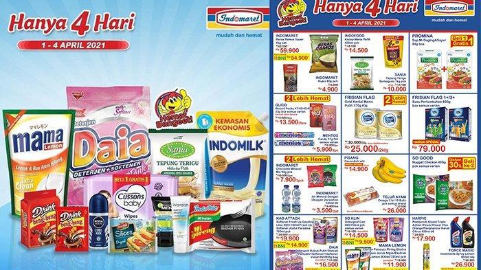 Promo JSM Indomaret TERBARU 2-4 April 2021, Beras 5kg Hanya Rp54.900, Snack Beli 2 Gratis 1