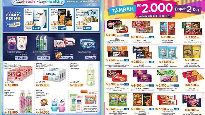 PROMO JSM Indomaret TERBARU 24-26 September 2021: Diskon Snack dan Produk Perawatan Tubuh