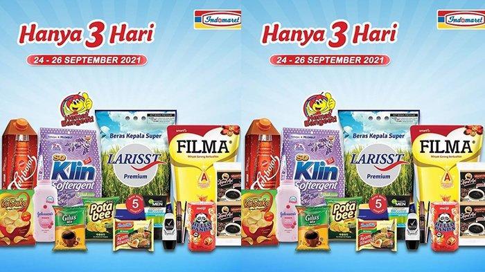 Promo JSM Alfamart & Indomaret 25 September 2021 Mascara Maybelline Rp44.900, Mi Instan Rp8.500/5pcs