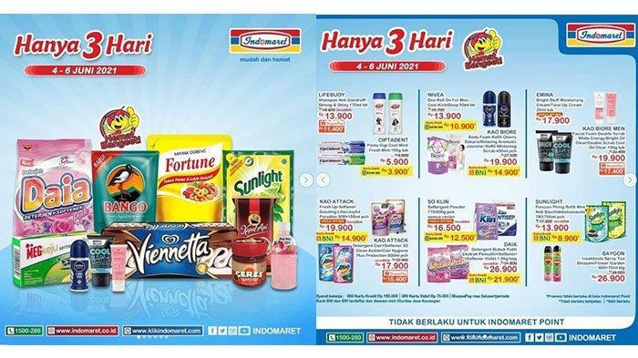 PROMO JSM Indomaret TERBARU 4 - 6 Juni 2021: Sania Beras Premium Rp53.900, Shampoo Lifebuoy Rp11.400