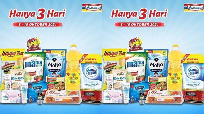 Promo JSM Indomaret TERBARU 9-10 Oktober 2021, Minyak Goreng Tropical 2L Rp24900, Molto 820Ml Rp5500