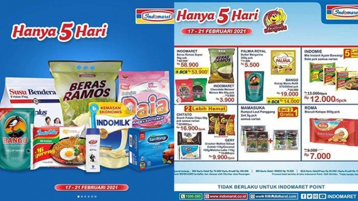 TINGGAL 2 HARI, Promo JSM Indomaret, Diskon Beras & Telur, Susu UHT 1L Rp11.900, Daia 900gr Rp10.500