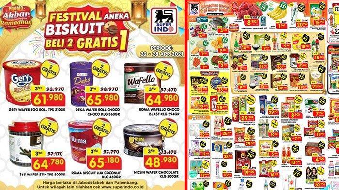 PROMO JSM Superindo 23 April 2021: Kimbo Sosis Diskon 50%, GRATIS Biskuit, Kurma Super Rp 17 Ribuan