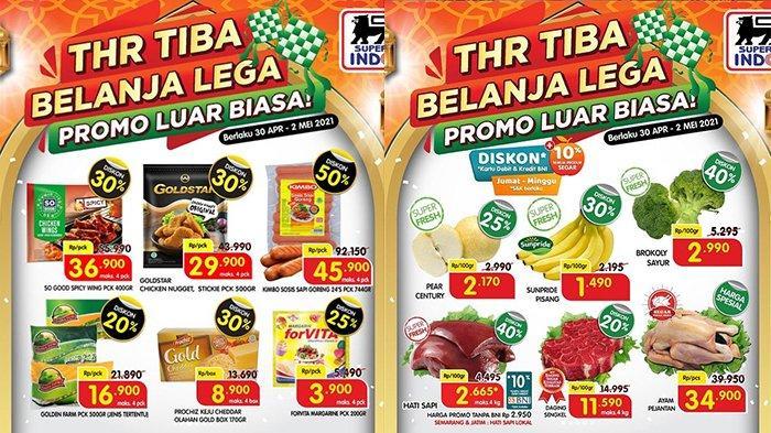 Promo JSM Superindo Hari Ini 2 Mei 2021, Daging Rp11.590, Biskuit, Sosis Diskon 50%, Gratis Snack