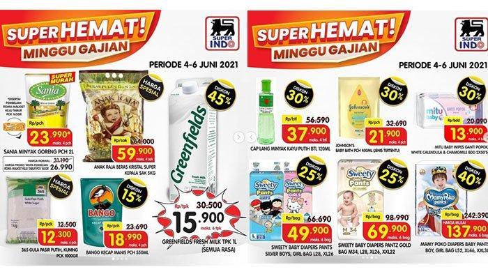 BARU! PROMO JSM Superindo Hari Ini 4 Juni 2021: Mamy Poko Diskon 40%, Minyak Goreng Sania Rp23.990