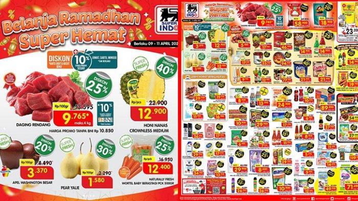 Promo JSM Superindo Hari Ini Sabtu 10 April 2021, Snack dan Biskuit Diskon 40%, Daging Rp9.765/100gr