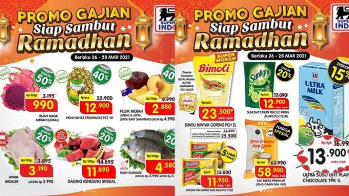 Promo Superindo 28 Maret 2021, Minyak Goreng Super Murah, Susu Ultra Diskon 15%, Nanas Diskon 40%