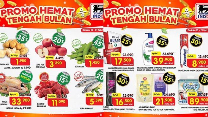 Promo JSM Superindo TERAKHIR HARI INI 21 Februari 2021, Daging Harga Spesial, Diapers Diskon 15%