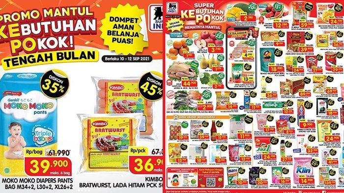 Promo JSM Superindo TERBARU 10-12 September 2021, Minyak Goreng 2L Rp24.990, Nugget, Beef Diskon 45%