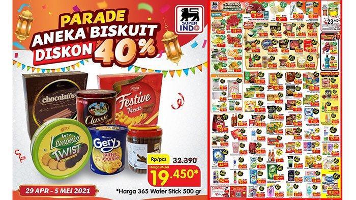 Promo Superindo TERBARU 30 April 2021, Hati Sapi, Jeruk dan Biskuit Diskon 40%, Mi Instan Rp11.500/5