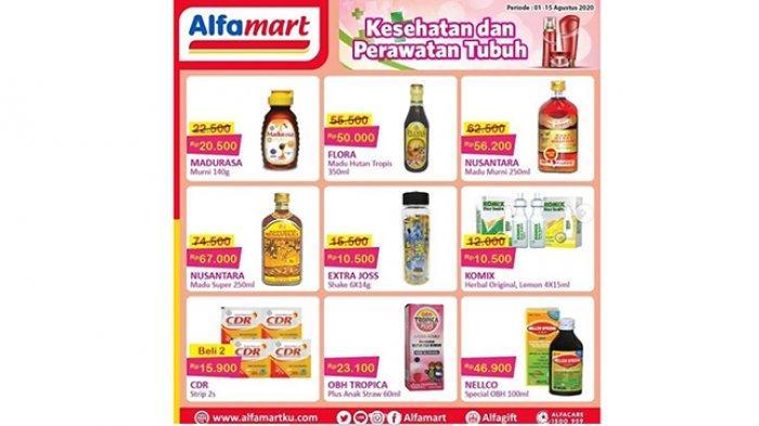 Katalog Promo Alfamart, Ada Promo JSM 7-9 Agustus 2020, Promo Susu Hebat hingga Aneka Madu