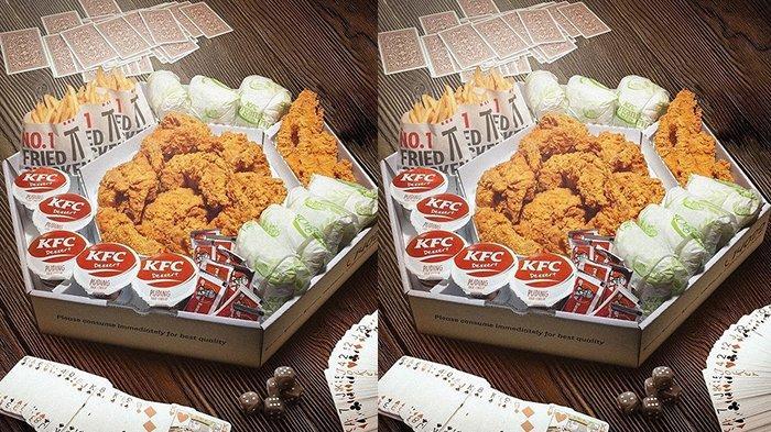 Promo KFC Hari Ini 14 Juni 2021, Mega Kombo Rp 200 Ribuan, Paket Lengkap untuk Makan Bareng-bareng
