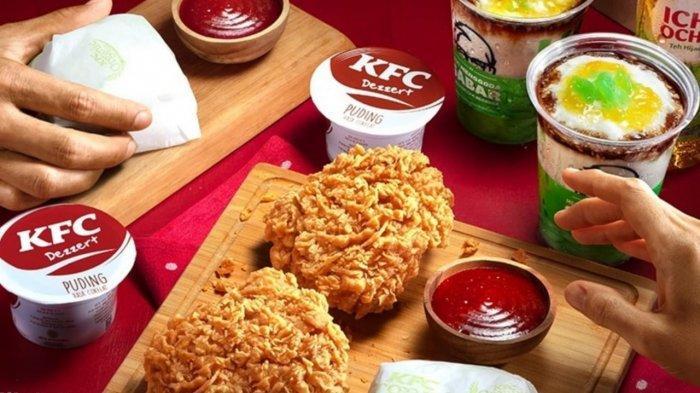 BARU! Promo KFC 18 April 2021, 1 Potong Ayam, 1 Nasi, 1 KFC Pudding dan 1 Minuman Rp 34.545