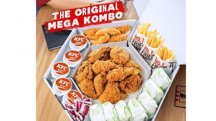 Promo KFC 8 Oktober 2021, 9 Ayam, Chicken Strip, French Fries, Nasi dan Pudding Hanya Rp240 Ribu