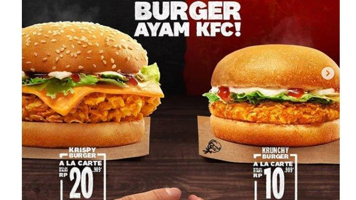Promo KFC 18 Februari 2021, Harga Burger Mulai Rp 10 Ribuan