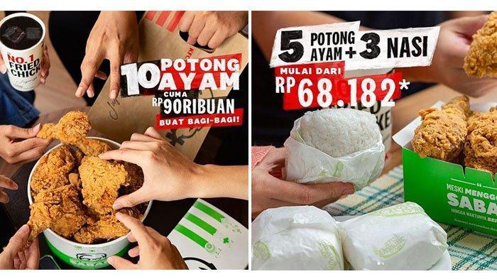 BARU! Promo KFC Hari Ini 29 April 2021: Buka Puasa dengan 10 Potong Ayam Cuma Rp 90 Ribuan