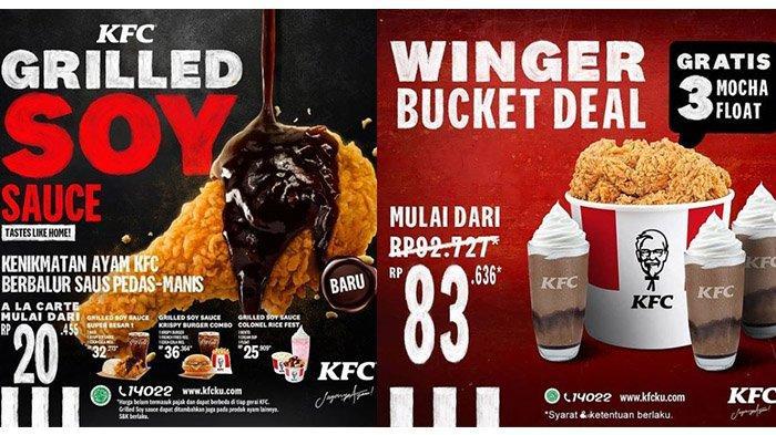 Promo KFC Hari Ini Hingga 28 Februari 2021: Menu Baru Rp 20 Ribuan, Bucket Winger Gratis 3 Minuman