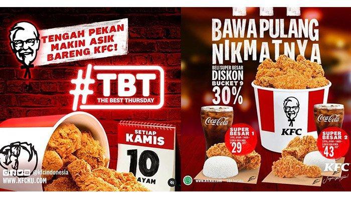 10 Potong Ayam Mulai dari Rp 90.000, Jangan Sampai Terlewat Promo KFC Hari Ini 11 Maret 2021