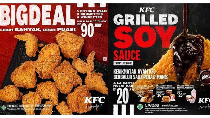 Promo KFC Hari Ini Kamis 25 Februari 2021: 5 Potong Ayam, 4 Drumttes, 4 Wingettes Cuma Rp 90 Ribuan