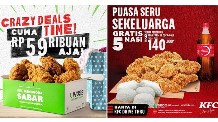 PROMO KFC 5 Mei 2021, Menu Murah 5-9 Potong Ayam Mulai Rp 59 Ribuan, Cocok Untuk Keluarga