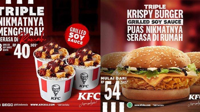 PROMO KFC di Bulan Ramadhan 13-30 April 2021, 3 KFC Bento Grilled Soy Sauced Hanya Rp 40 Ribuan
